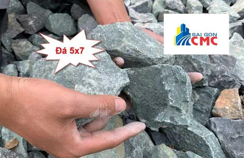 Đá 5×7 là loại đá cứng, chắc được sử dụng nhiều trong xây dựng cầu đường