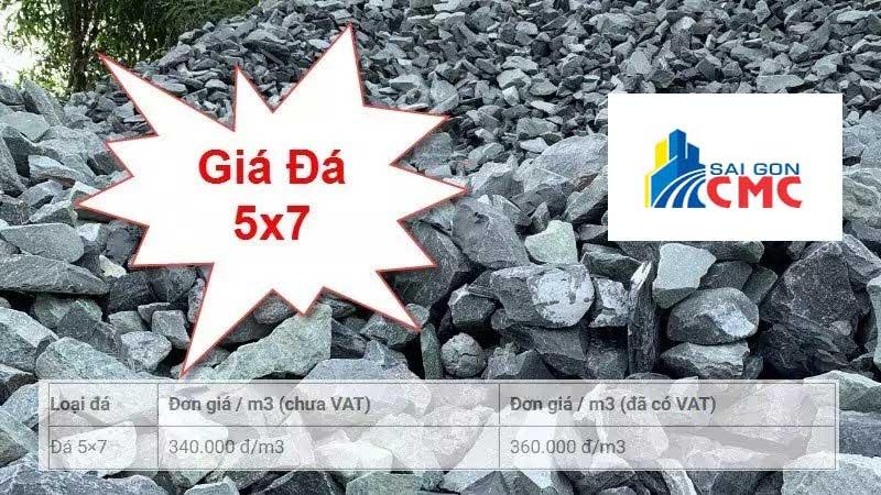Đá 5×7 là loại đá cứng, chắc, có độ nén cao và được sử dụng nhiều trong các công trình xây dựng