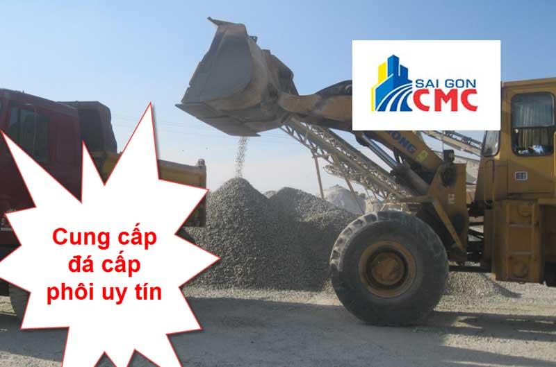 VLXD Sài Gòn CMC – Đơn vị cung cấp đá cấp phối đá dăm loại 1 uy tín tại tphcm
