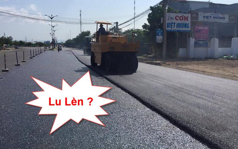 Lu lèn là loại công tác không thể thiếu trong xây dựng cầu đường