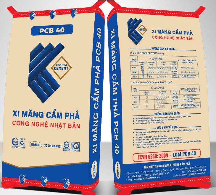 Xi măng cẩm phả PCB 40