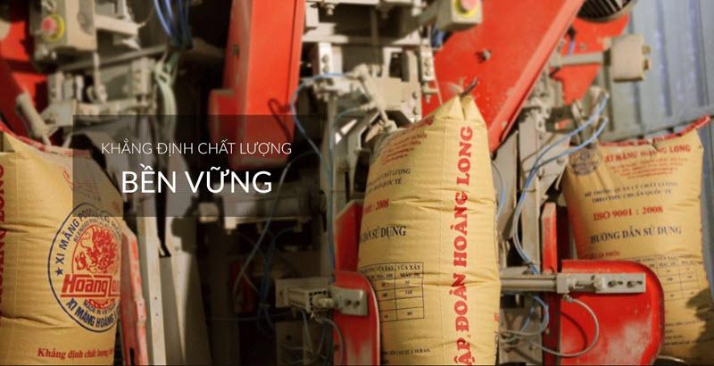 Xi măng Hoàng Long có chất lượng tốt, được nhiều người ưa chuộng